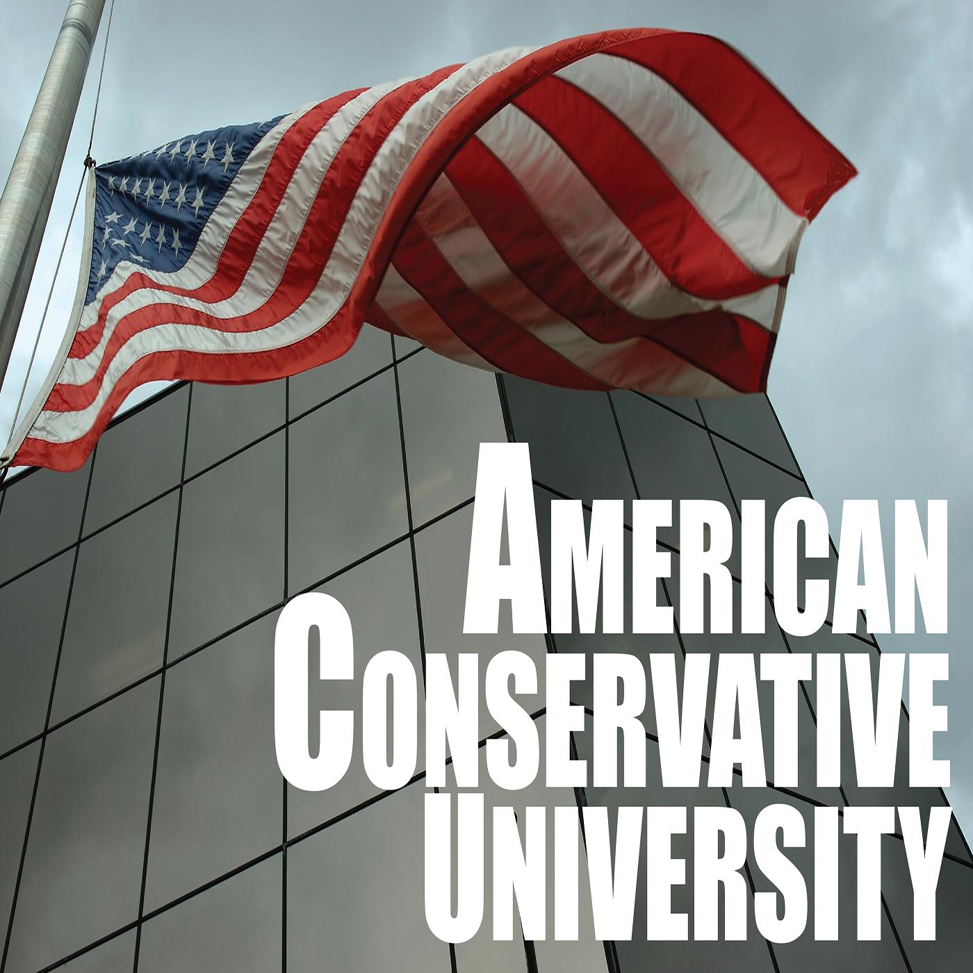 American Conservative University Podcast logo