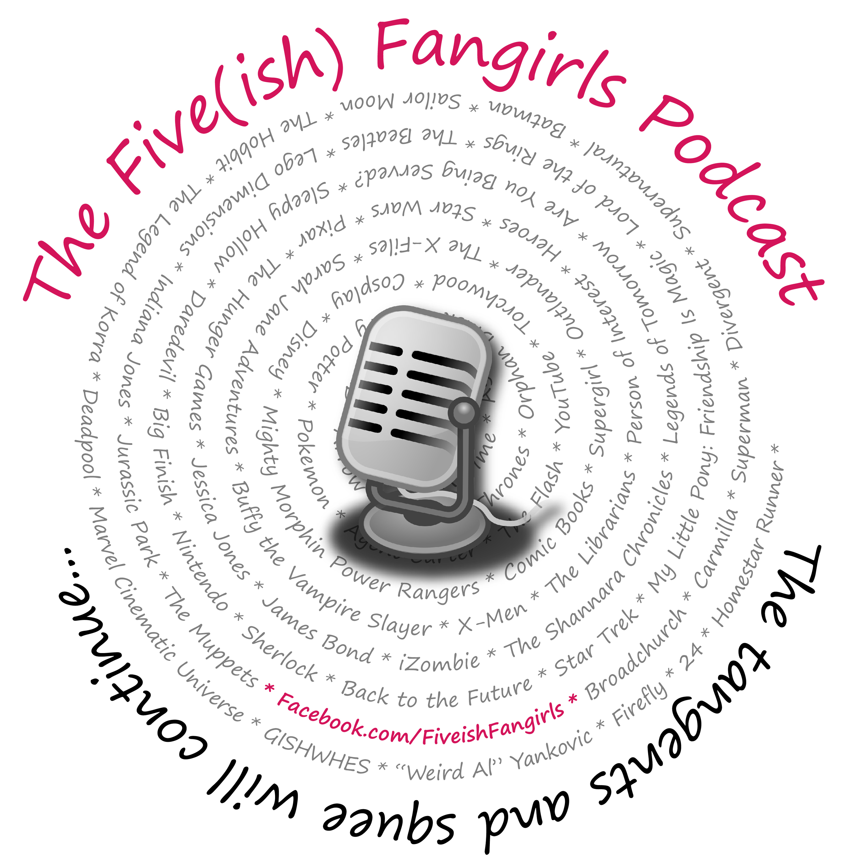 Five(ish) Fangirls Podcast show image