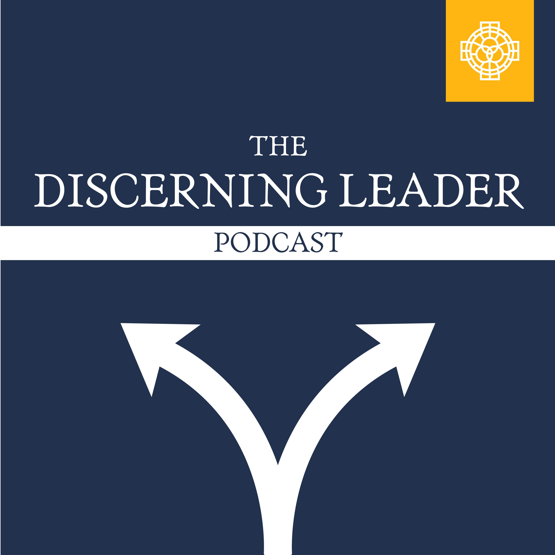 The Discerning Leader Podcast show art