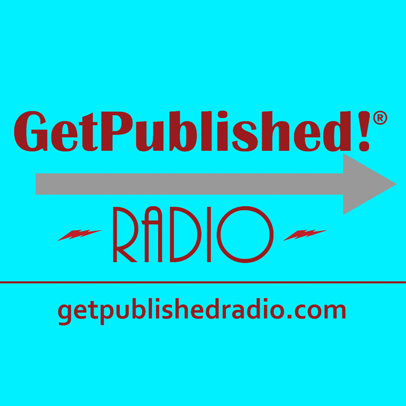GetPublished! Radio show art