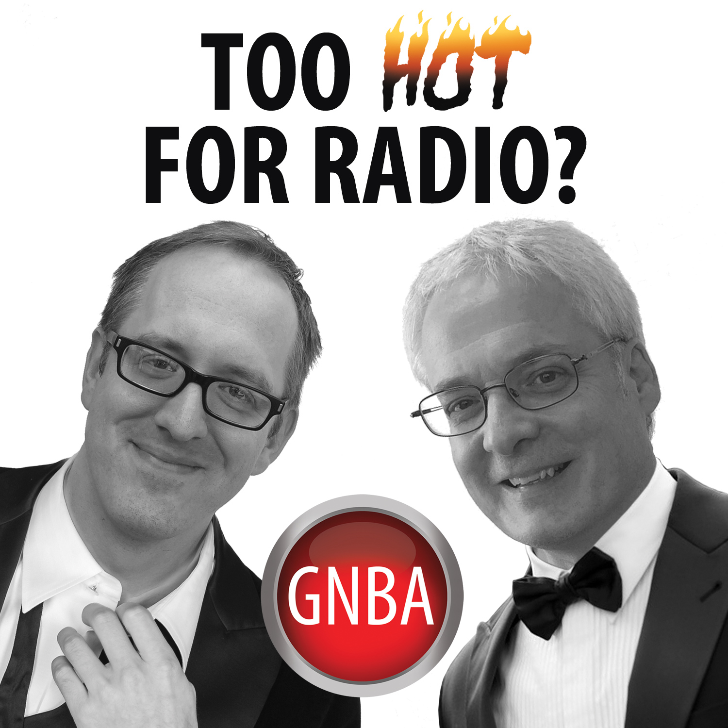 Too Hot For Radio show art