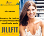 Artwork for Jill Coleman- Educating the Public on Personal Fitness in the Age of Social Media