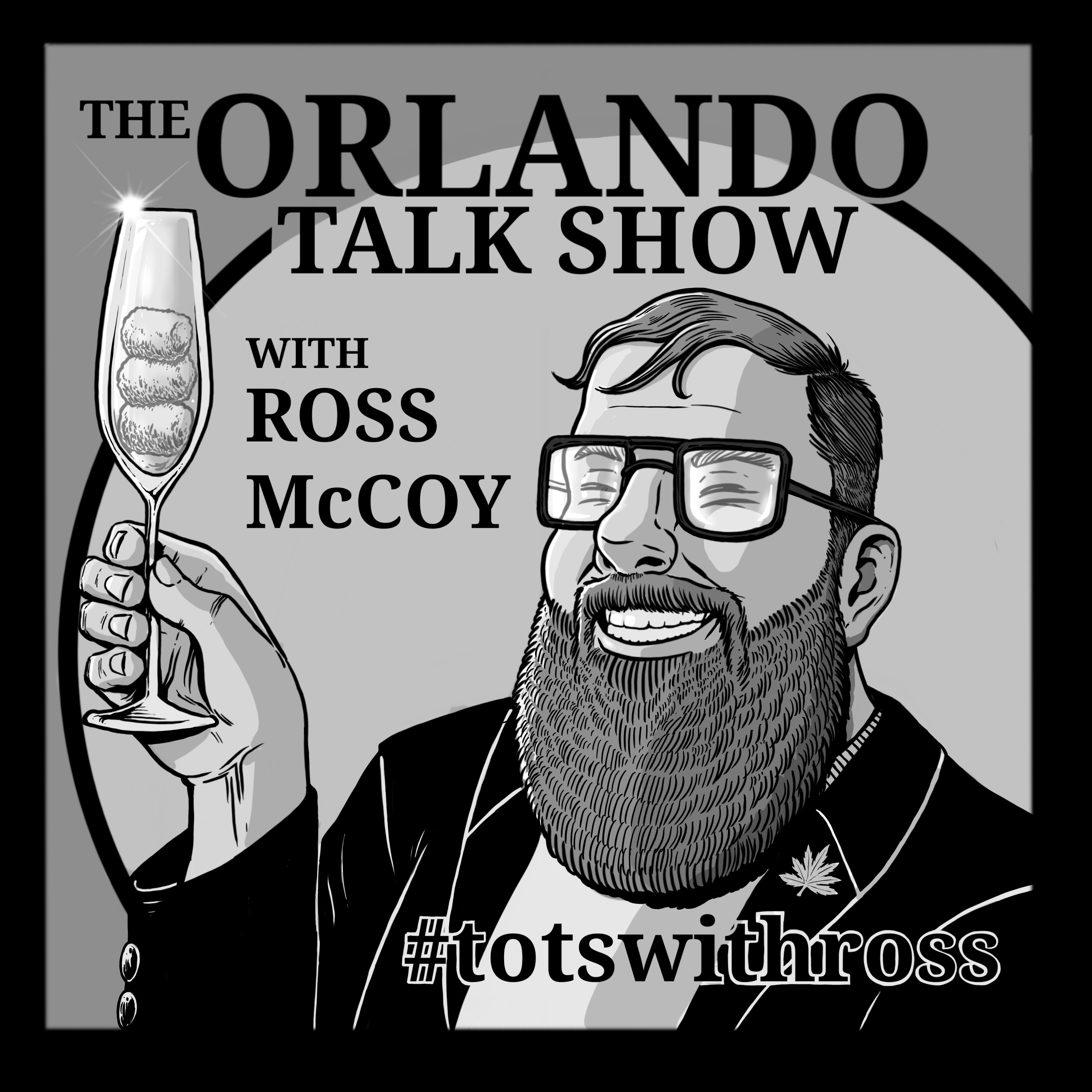 The Orlando Talk Show with Ross McCoy show art