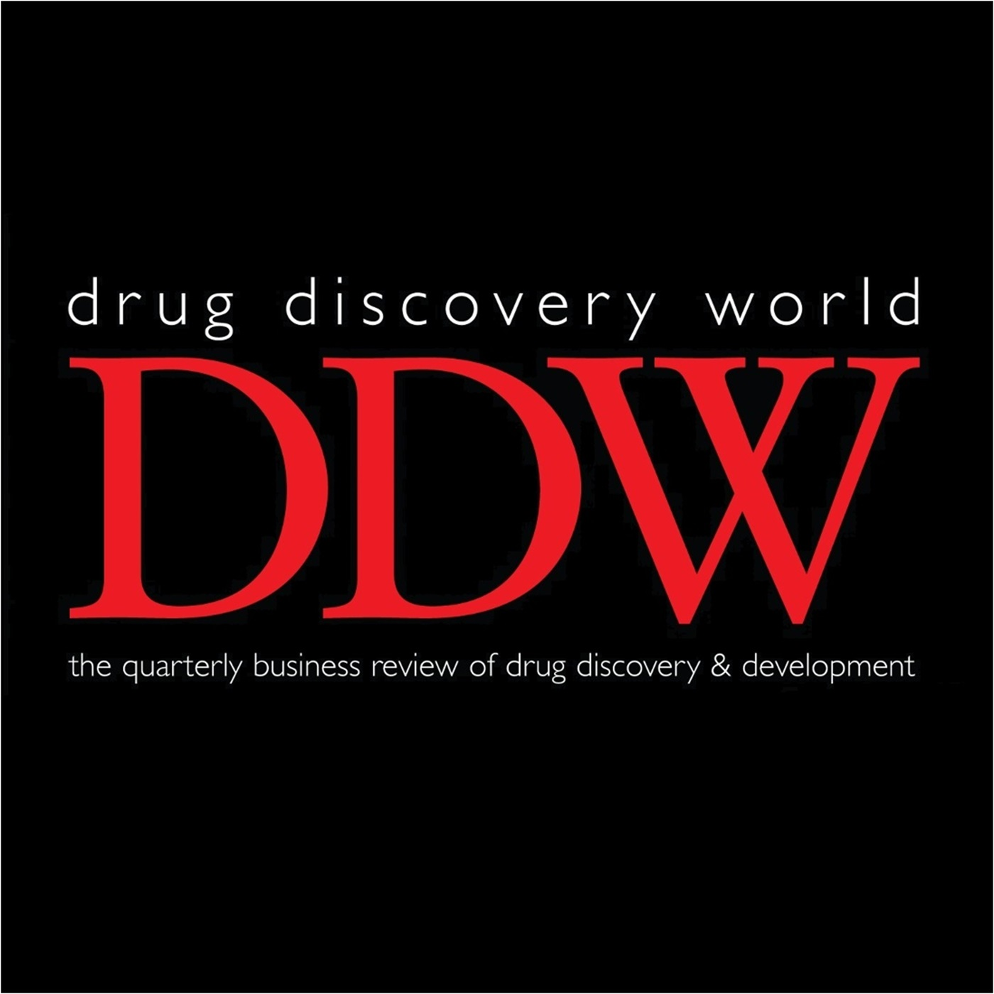 The Drug Discovery World Podcast show art