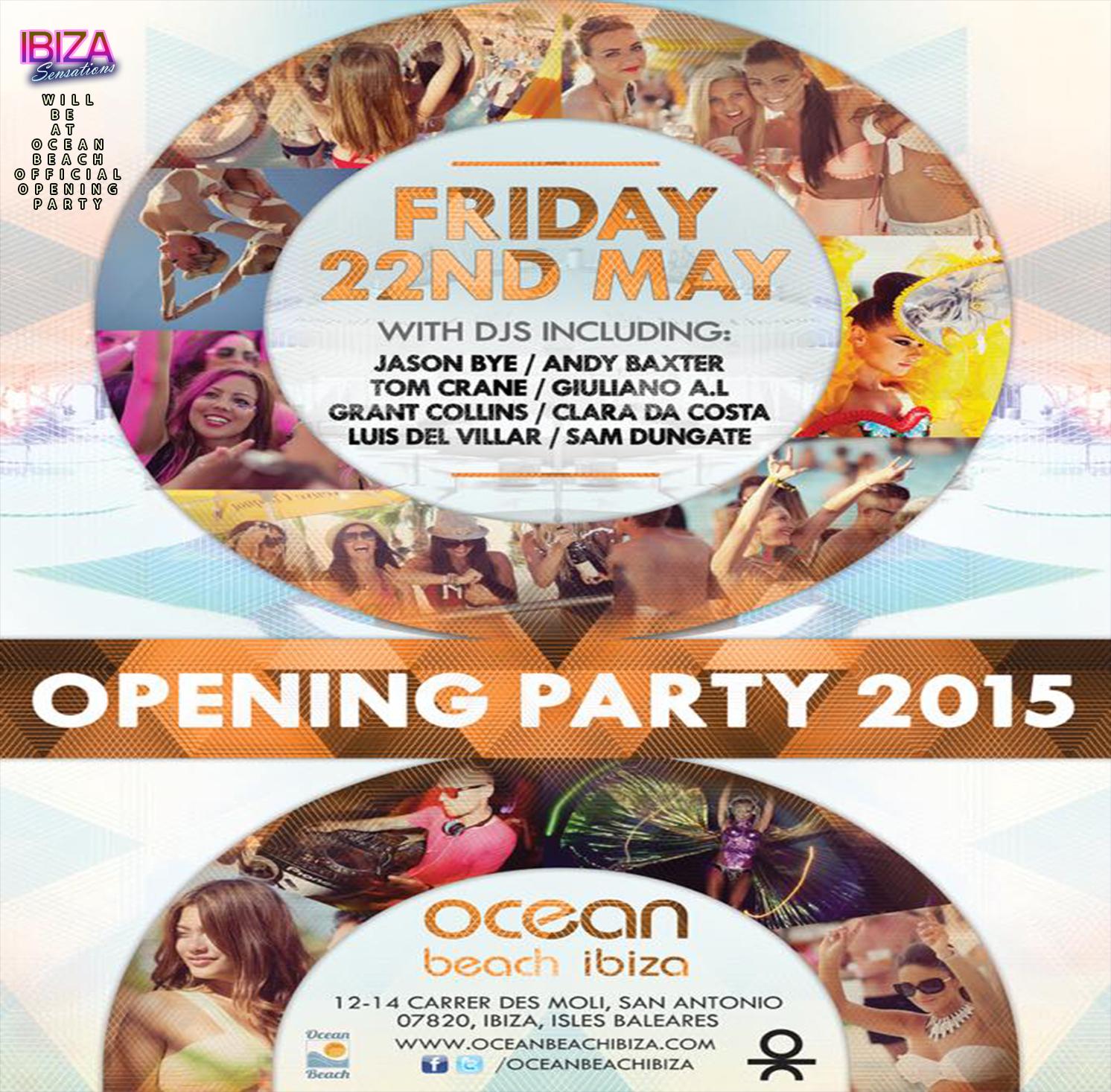 Artwork for Ibiza Sensations 112 Every wednesday @ Ocean Beach Ibiza