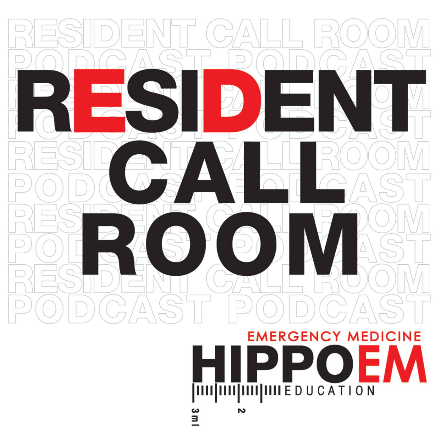 The Hippo EM Resident Call Room logo