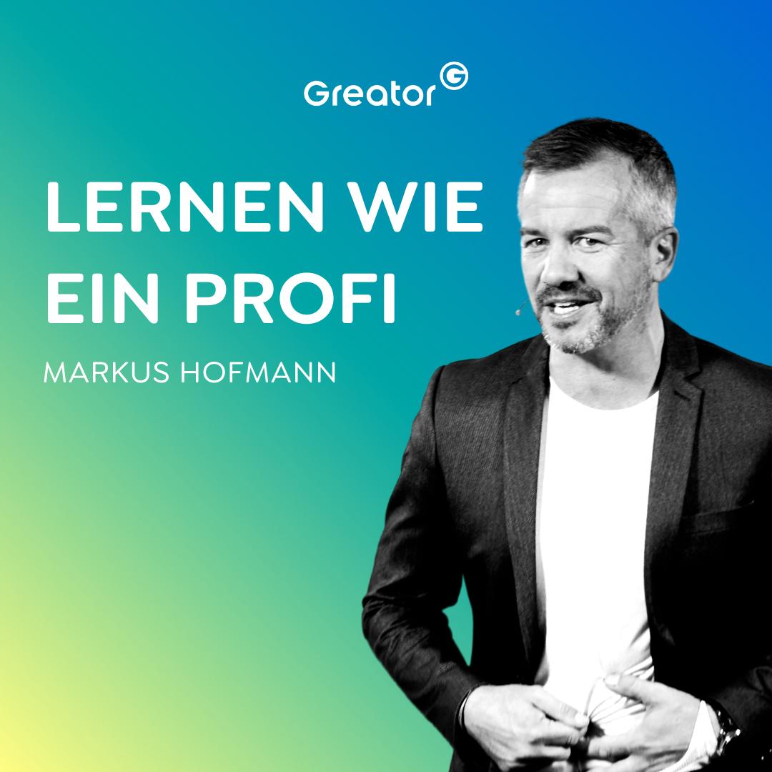 #736 Wie du dir alles merken kannst // Markus Hofmann