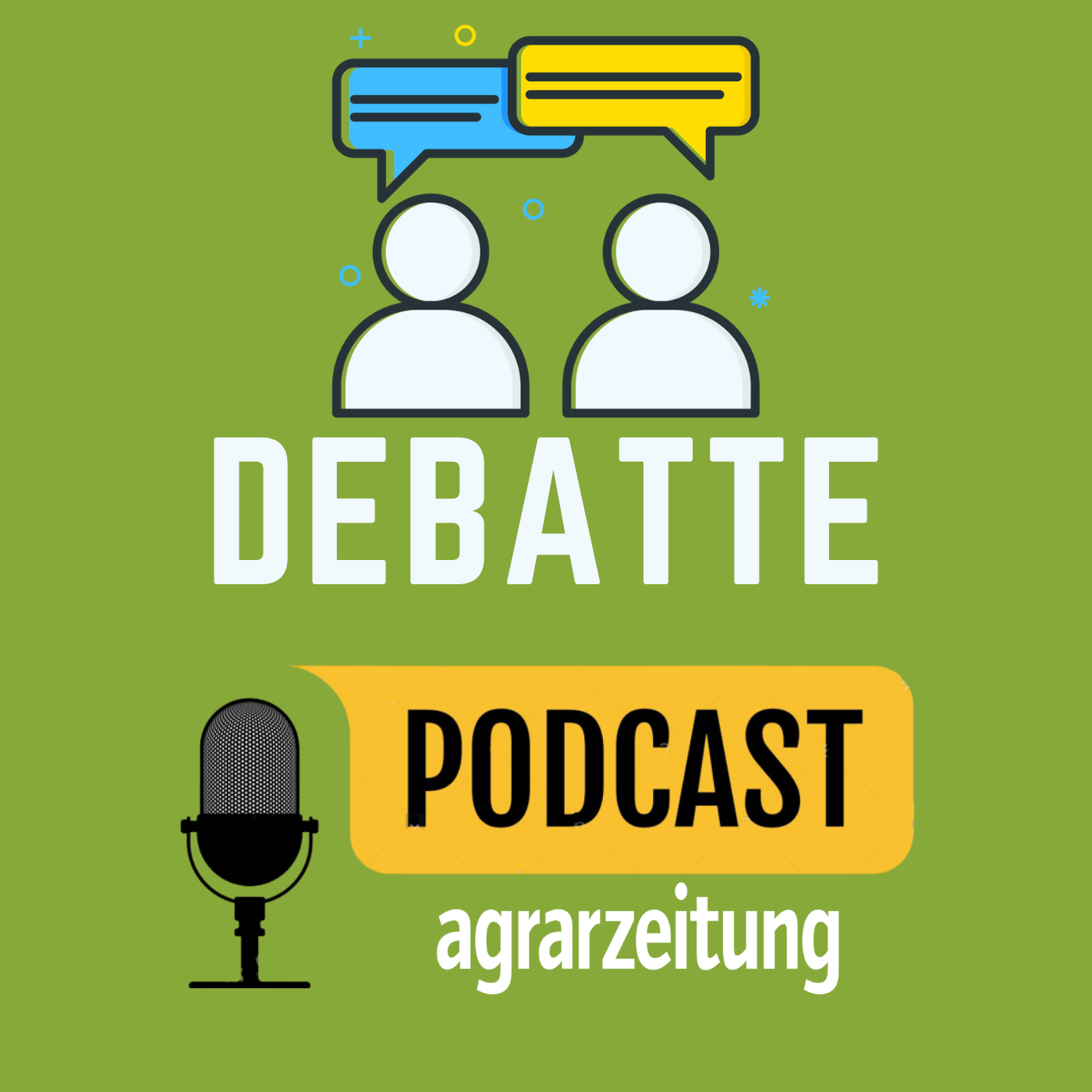 az-Podcast Debatte show art