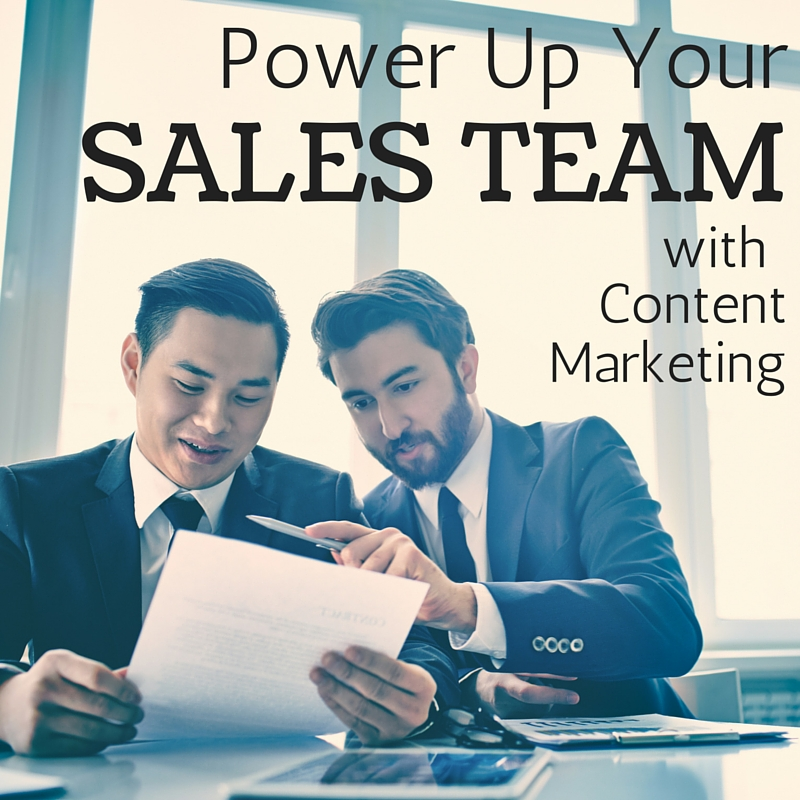 Content Marketing Podcast 139: Power Up Your Sales Team With Content Marketing