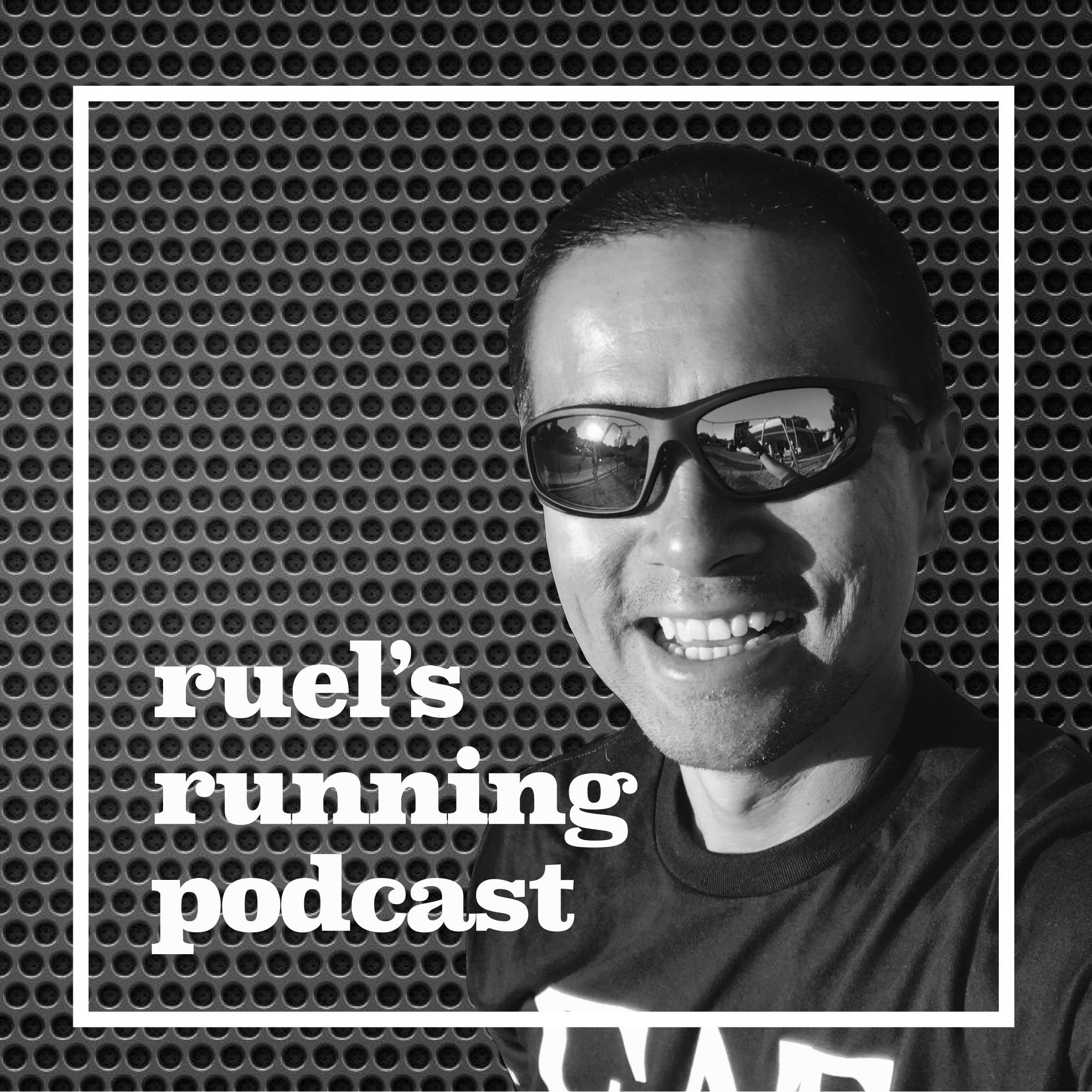 Ruel's Running Podcast show art