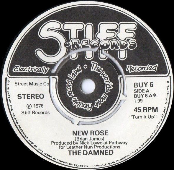 THE UKPNW@40 PODCAST EPISODE 4 - 10/22/76, THE FIRST UK PUNK ROCK SINGLE : NEW ROSE/HELP BY THE DAMNED