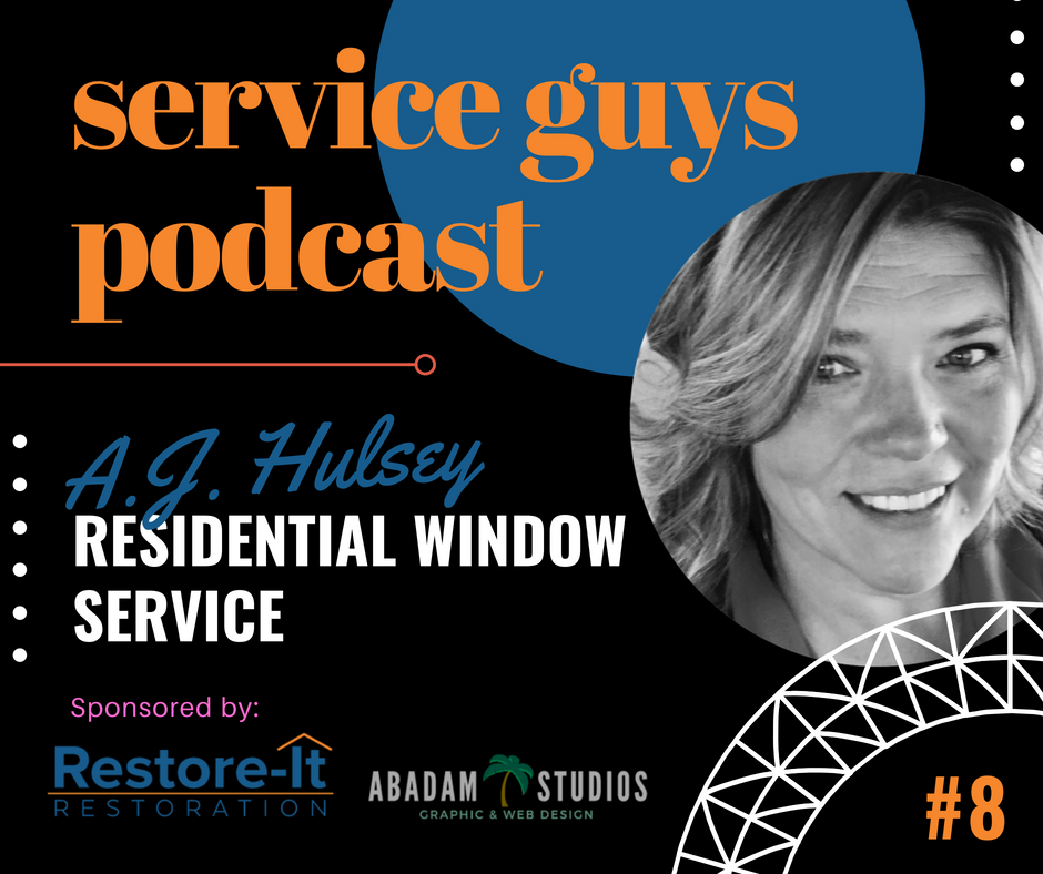 SGP008 : A.J. Hulsey with Residential Window Service