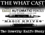 Artwork for The What Cast #272 - The Gravity Knife Story