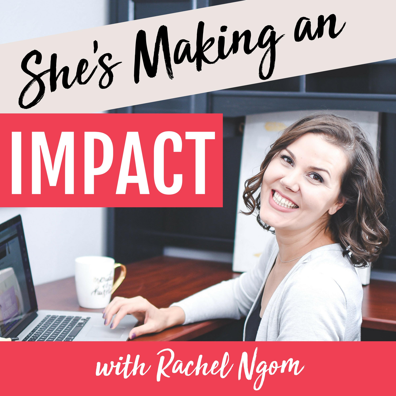 She's Making an Impact | Online Marketing | Pinterest Marketing | Entrepreneur Tips show art