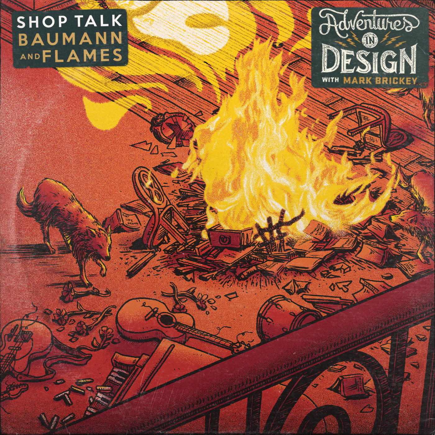 Episode 324 - Shop Talk with Billy Baumann and James Flames