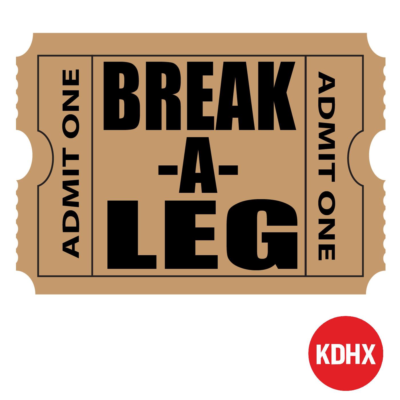 Break a Leg show art