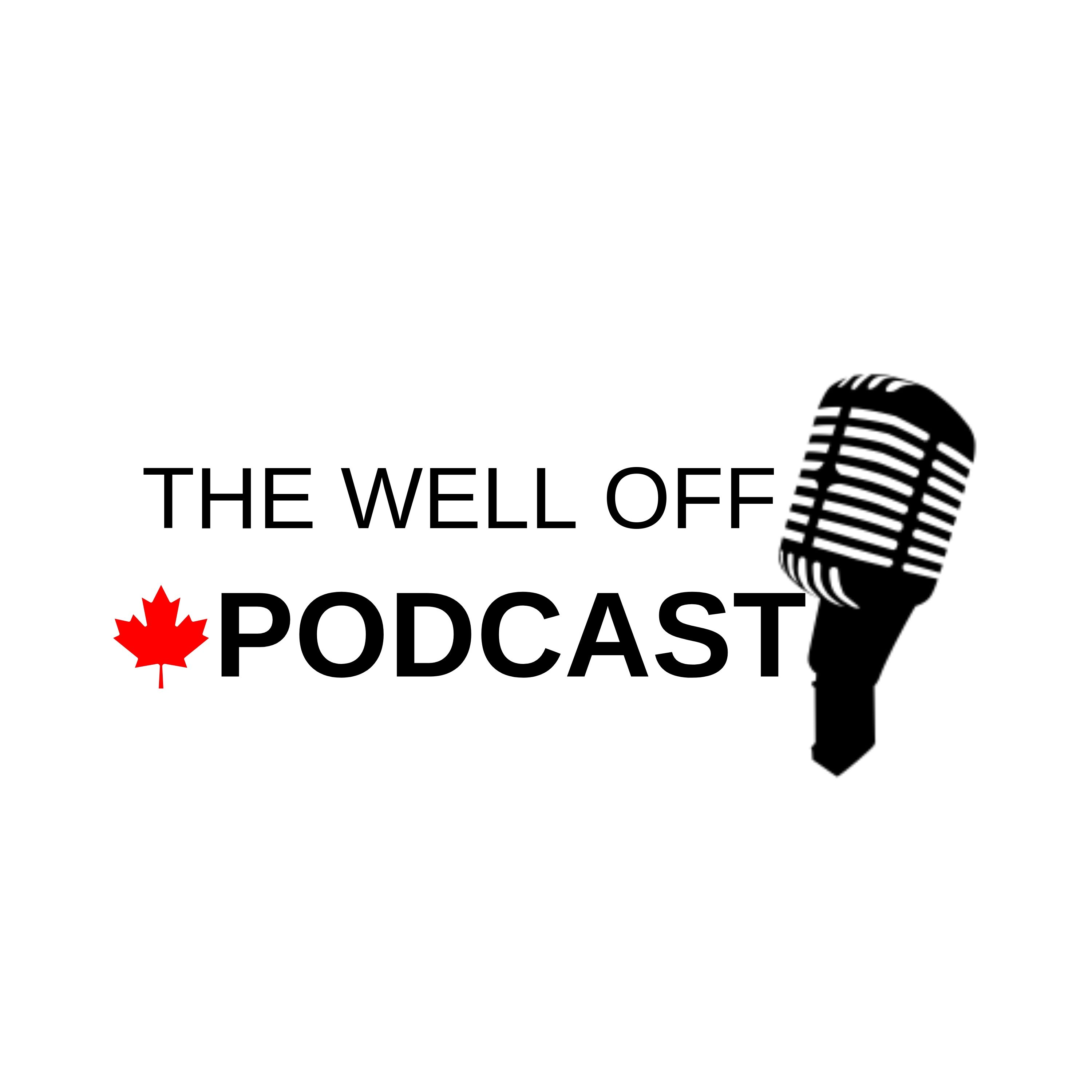 Well Off Podcast show art