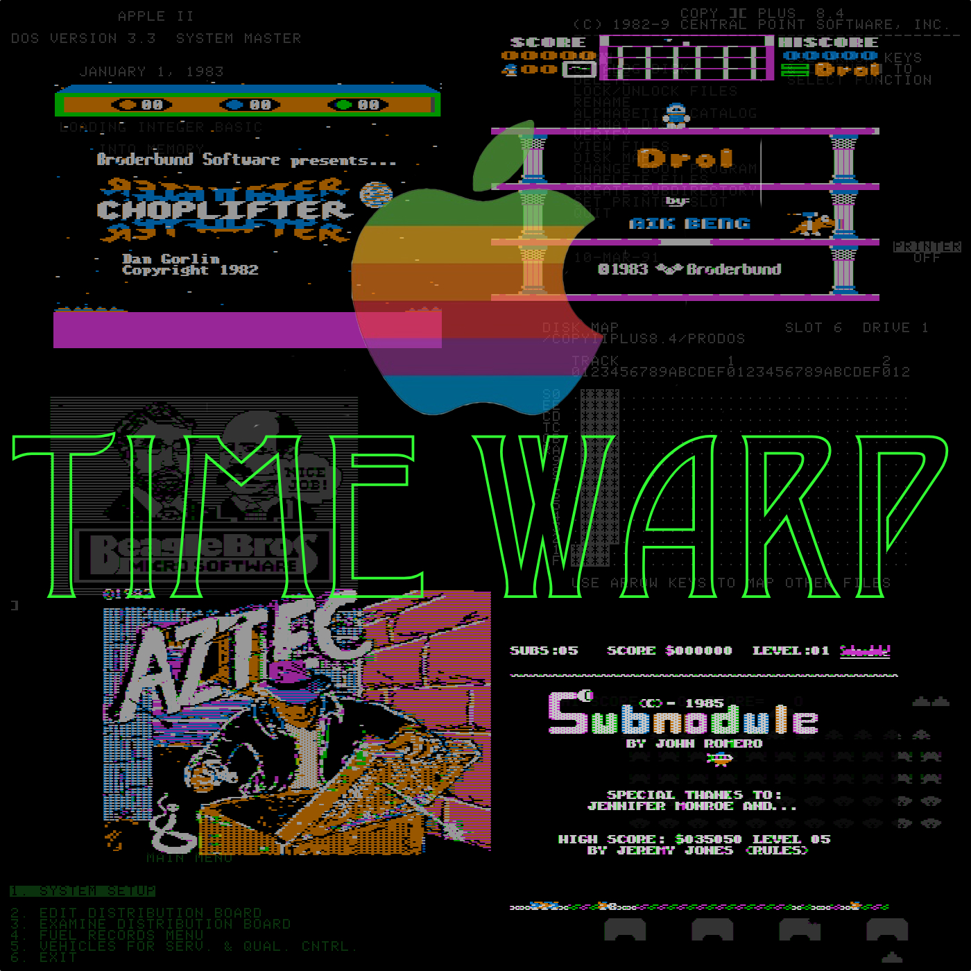 Apple Time Warp show art