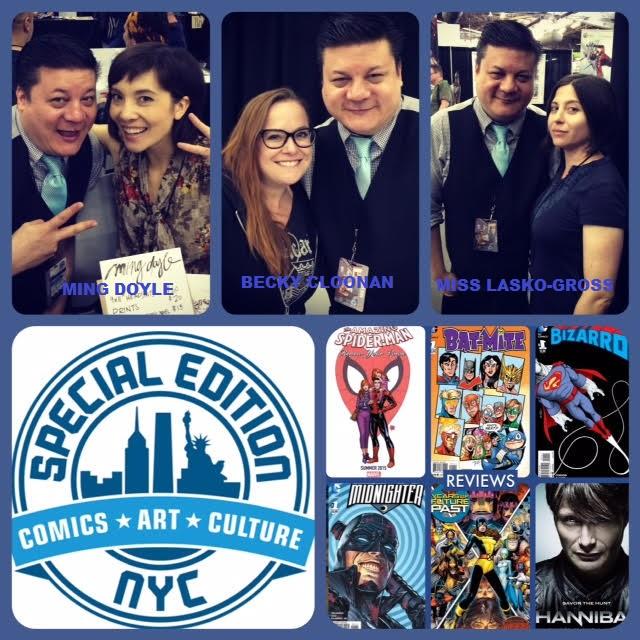 Comic News Insider Episode 614 - Special Edition NYC Recap: Becky Cloonan/Ming Doyle/Miss Lasko-Gross!