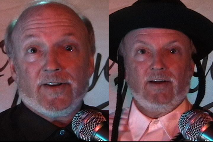 """Artwork for """"ONE OF US IS A JEW"""" -The VIDEO comedy-satire original by Loose Bruce Kerr"""