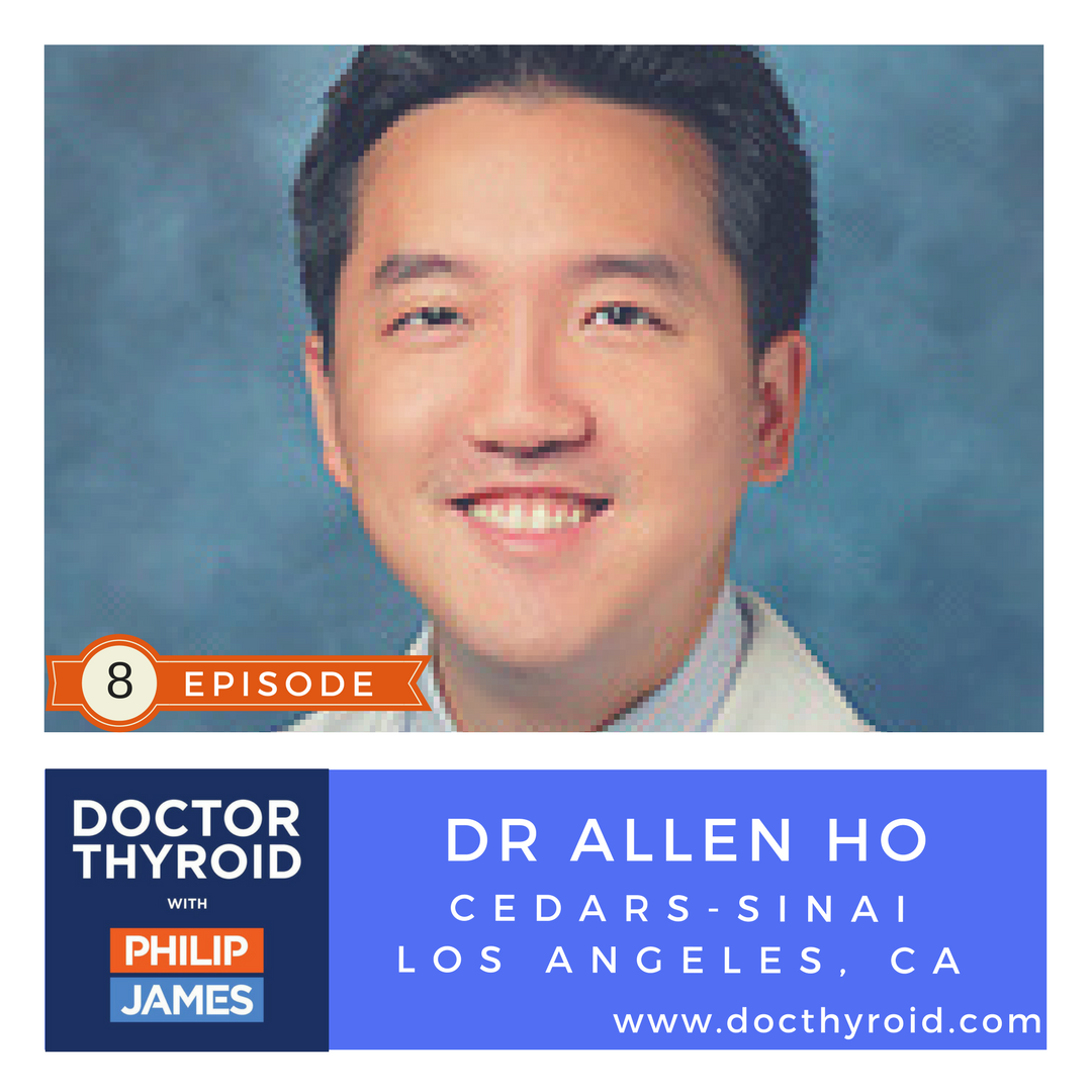 Artwork for 35: Rethinking Thyroid Cancer - When Saying No to Surgery Maybe Best for You with Dr. Allen Ho from Cedars-Sinai in Los Angeles