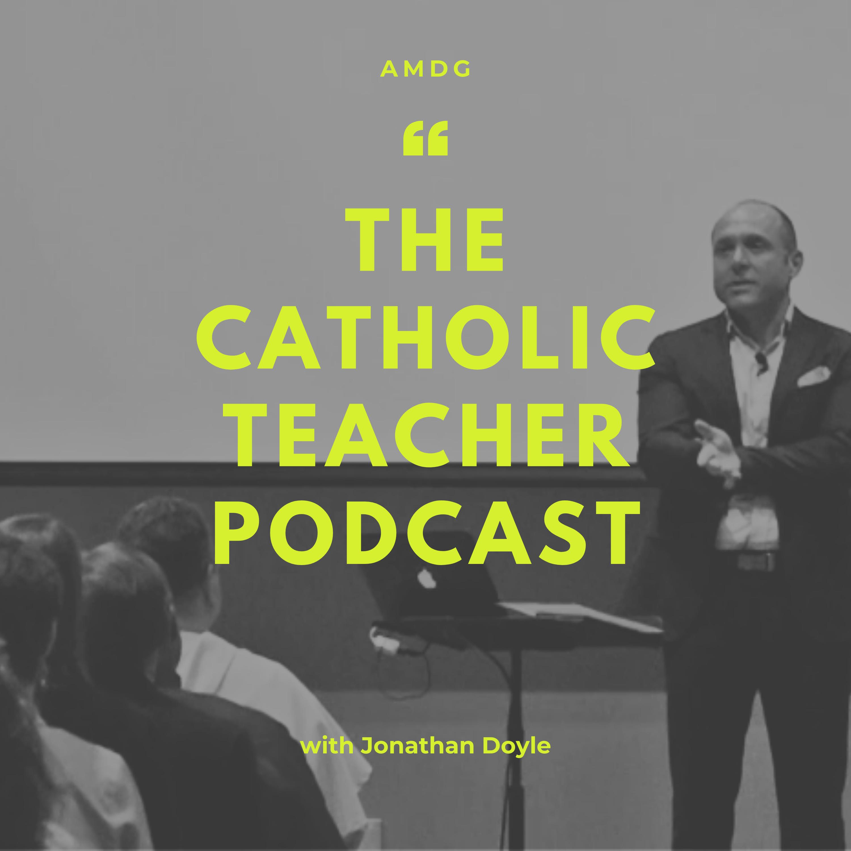 The Catholic Teacher Podcast show art