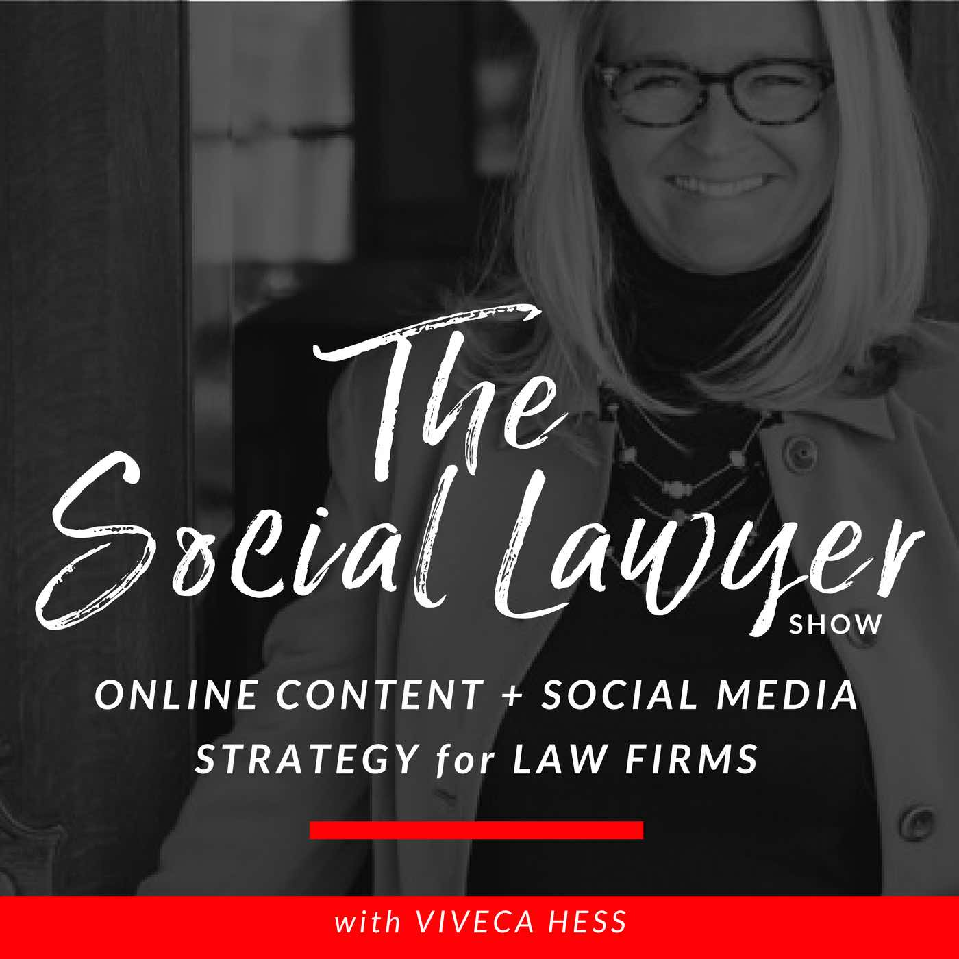 Artwork for Episode #062 Lawyers Lunch & Launch - 3 Top Tips for Lawyers from Social Media Marketing World 2020
