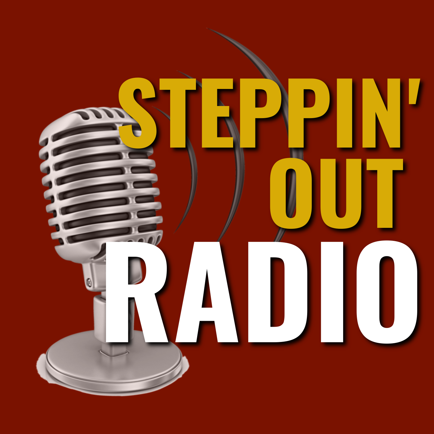 Steppin' Out Radio show art