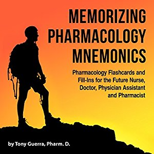 Memorizing Pharmacology Mnemonics Book Cover