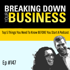 Top 5 Things You Need To Know BEFORE You Start A Podcast w/ Laura Kalister| Small Business | Entrepreneur | Leadership