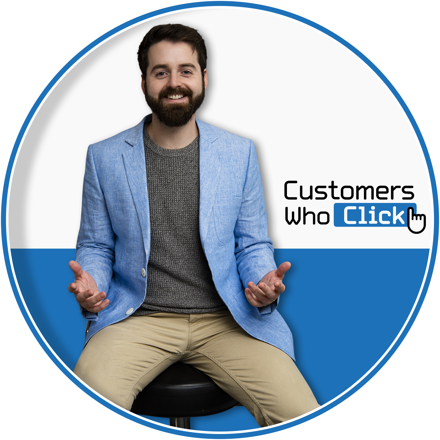 Customers Who Click show art