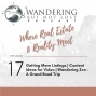 Artwork for  Episode 17: Getting More Listings | Content Ideas for Video | Wandering Zen - A Grand Road Trip