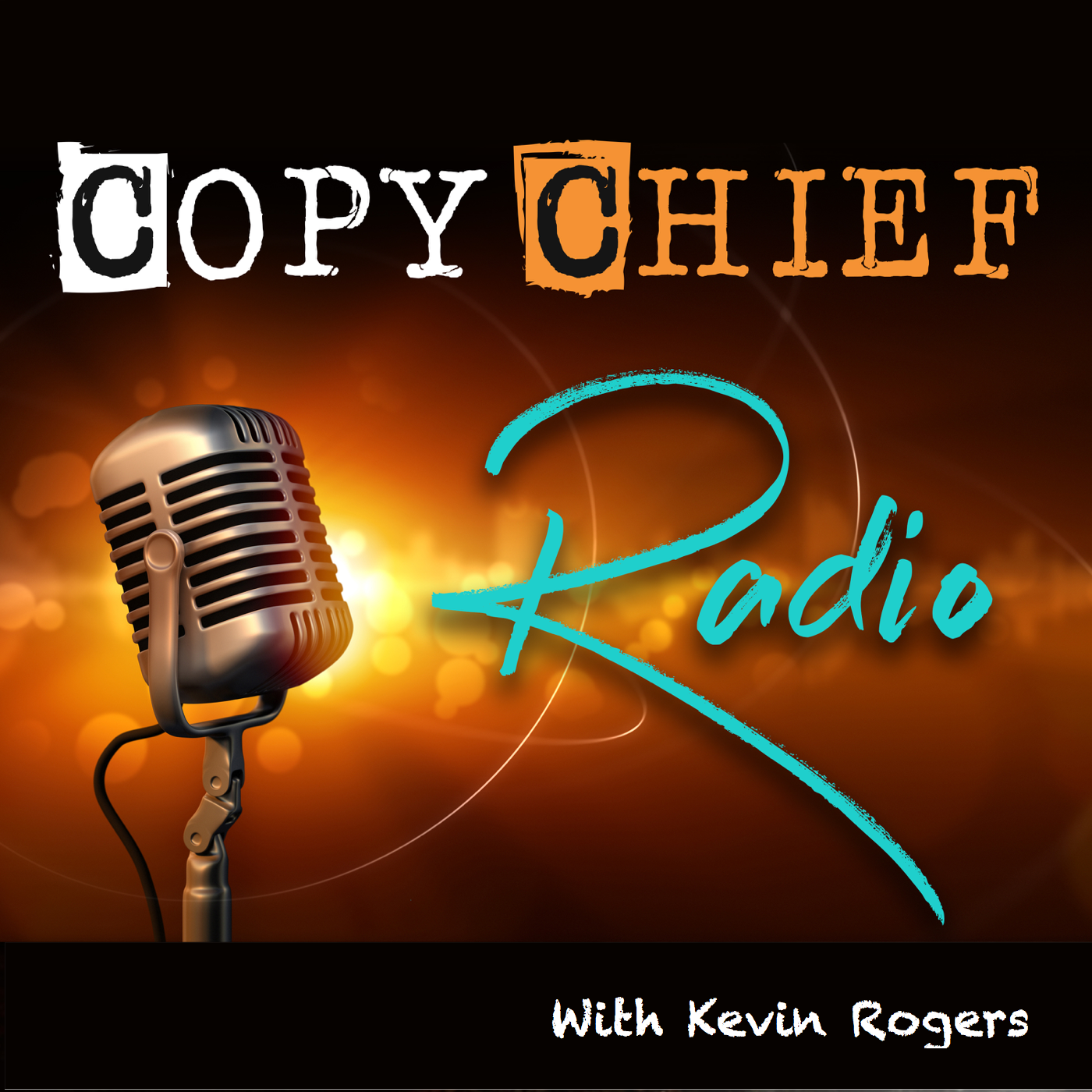 Copy Chief Radio show art
