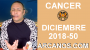 Artwork for HOROSCOPO CANCER-Semana 2018-50-Del 9 al 15 de diciembre de 2018-ARCANOS.COM...