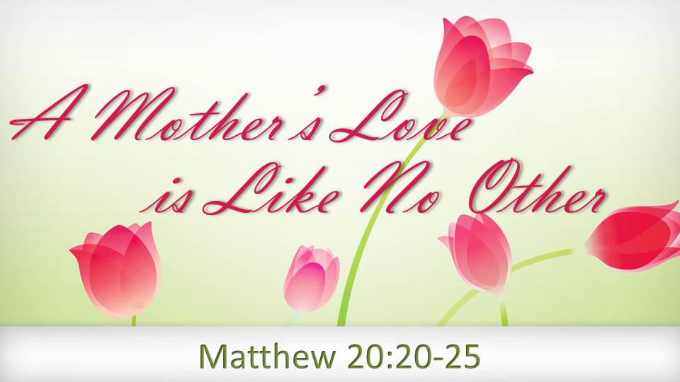 Artwork for A Mother's Love is Like No Other ( Pastor Tim Martin)