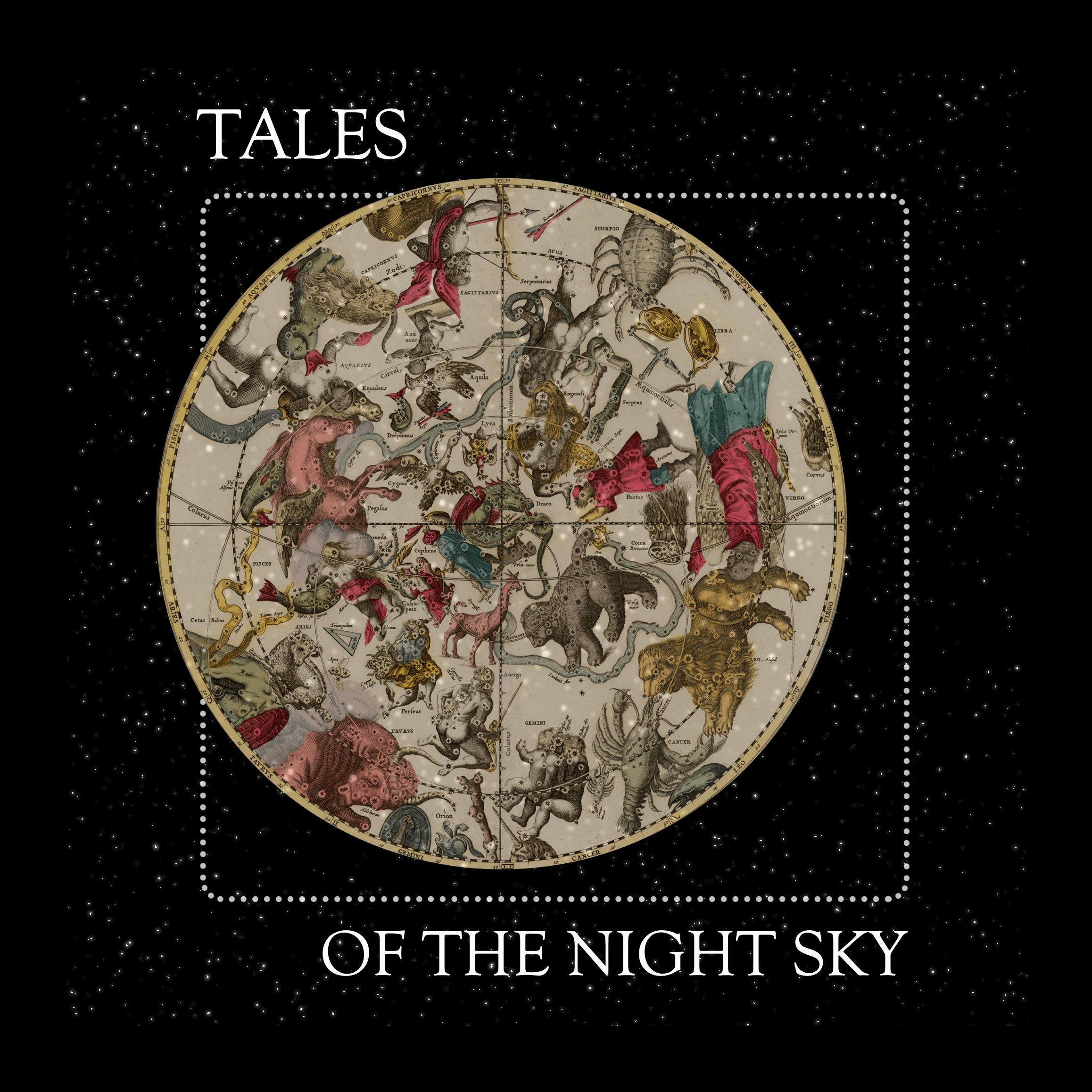 Tales of the Night Sky | Greek & Roman Star Myths show art