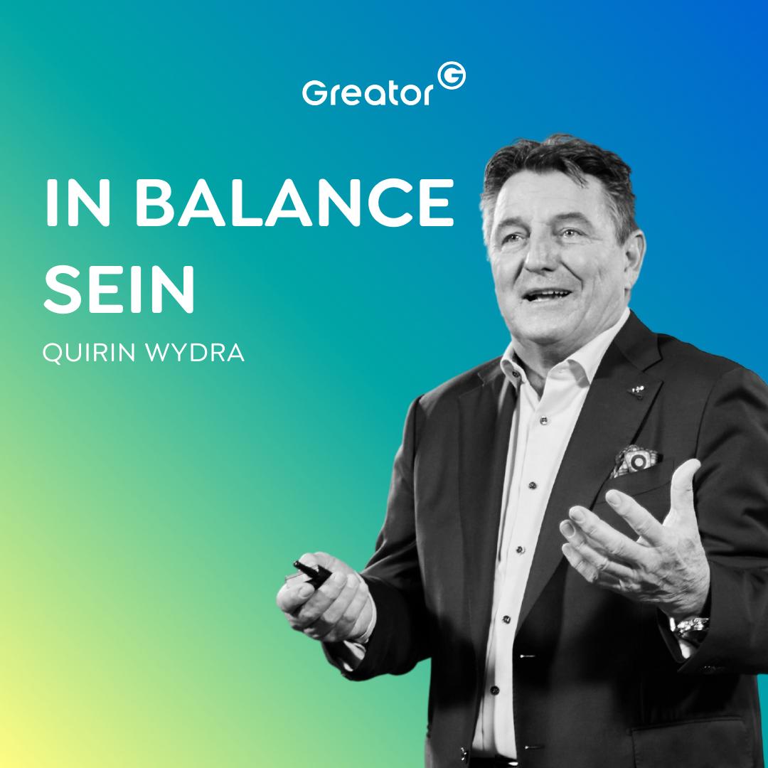 #776 Deine Haltung definiert dein Leben // Quirin Wydra