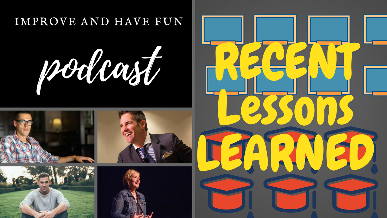 Artwork for Recent Lessons Learned-VIDEO