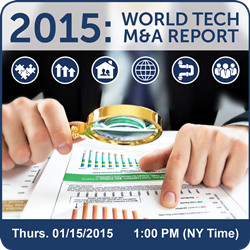Tech M&A Annual Report 2015 - Assoc. Events & Tech Trends Intro