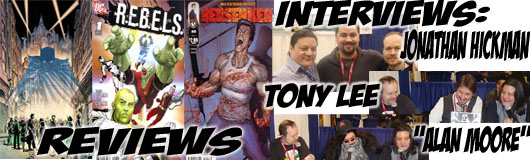 """Episode 180 - More NYCC with Jonathan Hickman, Tony Lee & """"Alan Moore""""!"""