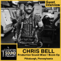 Artwork for 085 Chris Bell - Production Sound Mixer and Boom Op based out of Pittsburgh, Pennsylvania