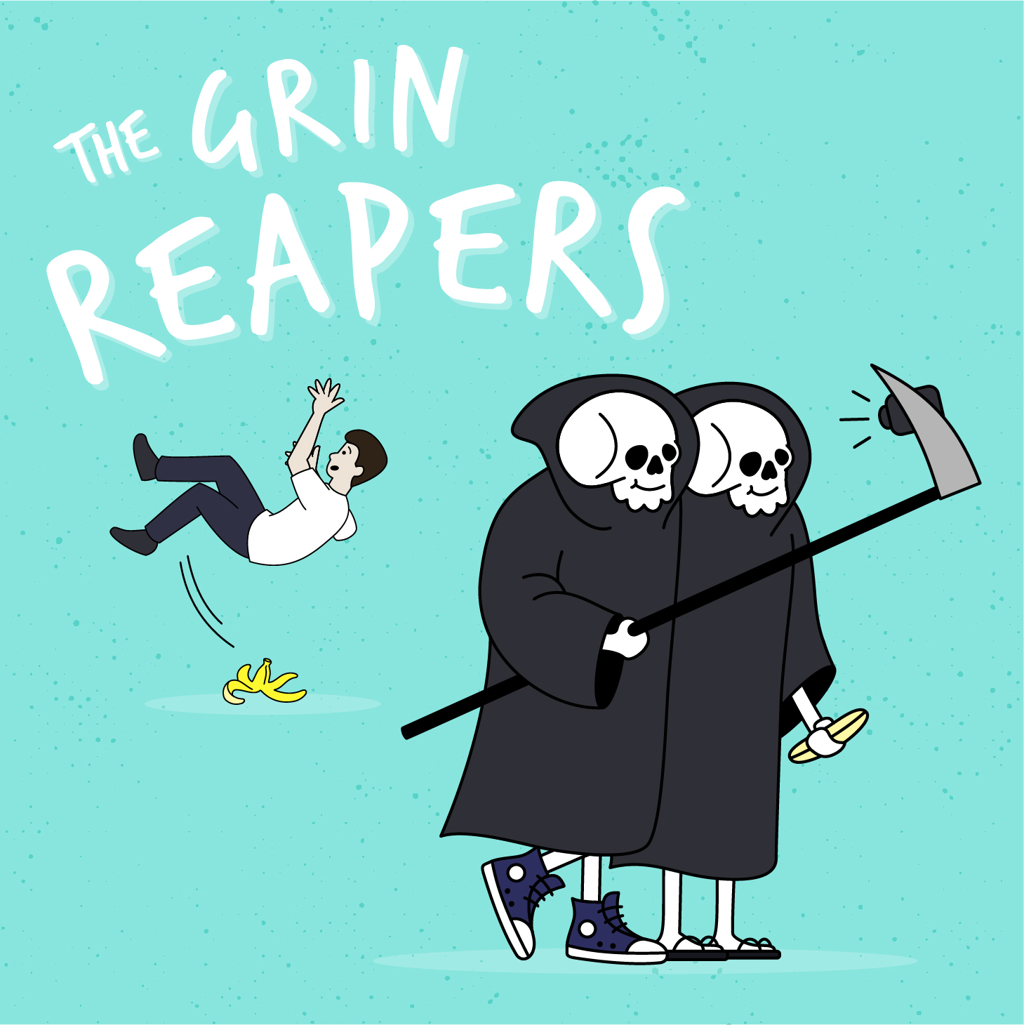 The Grin Reapers Podcast show art