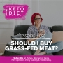Artwork for #093 Should I Buy Grass-Fed Meat? with Steph Lowe