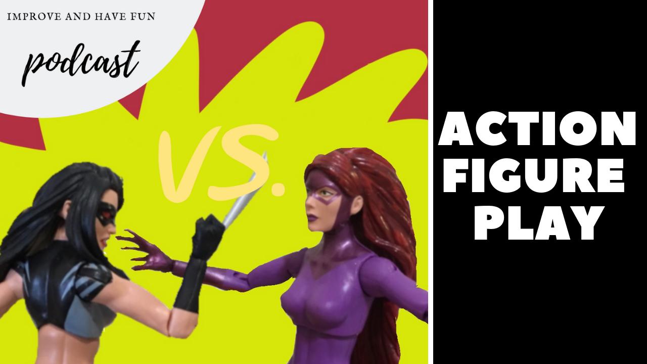Artwork for Action Figure Play-Madusa Vs. X-23-BONUS VIDEO