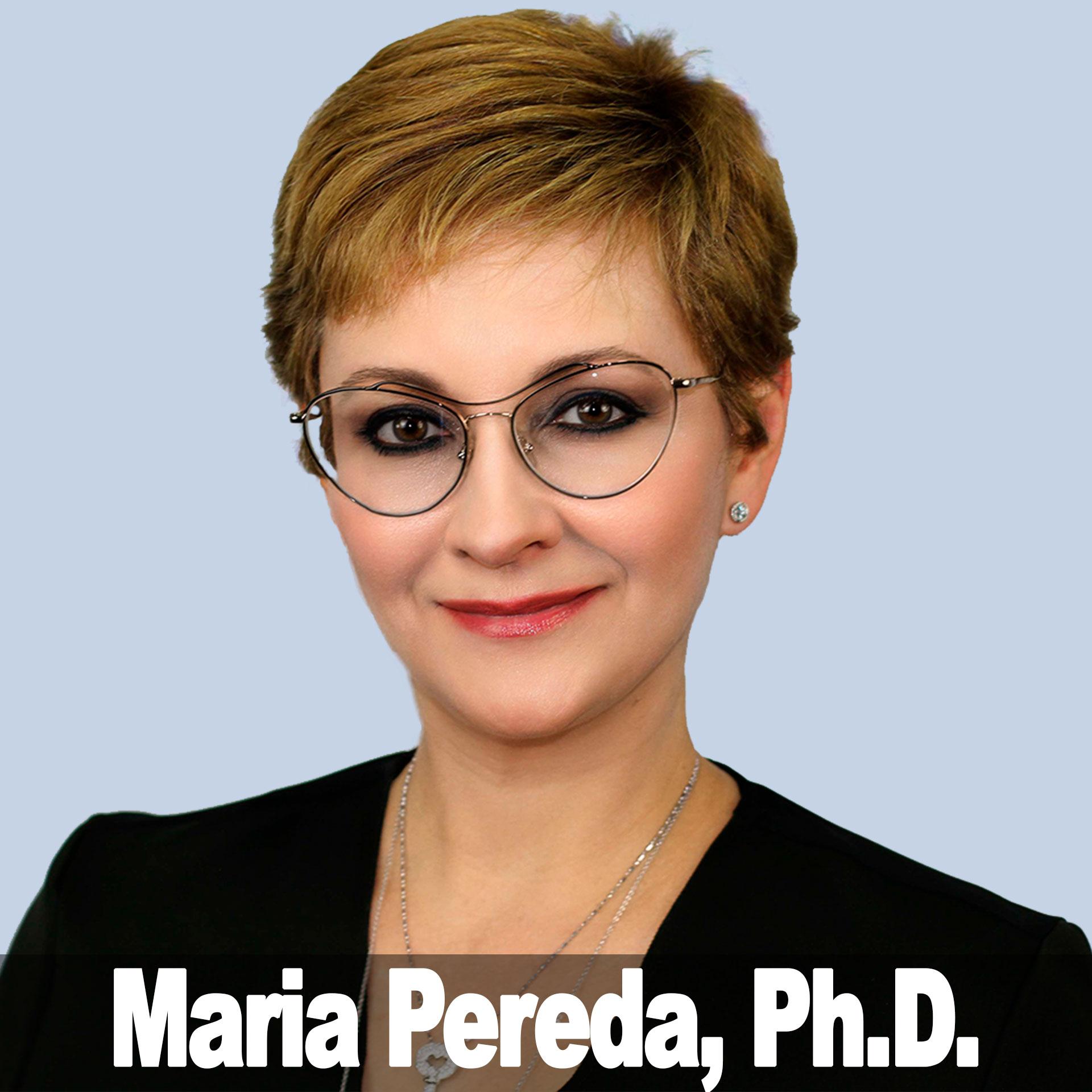 Maria Pereda, Ph.D. show art