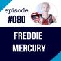 Artwork for #080 English Podcast ESL - Freddie Mercury - Queen