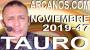 Artwork for TAURO NOVIEMBRE 2019 ARCANOS.COM - Horoscopo 17 al 23 de noviembre de 2019 - Semana 47...