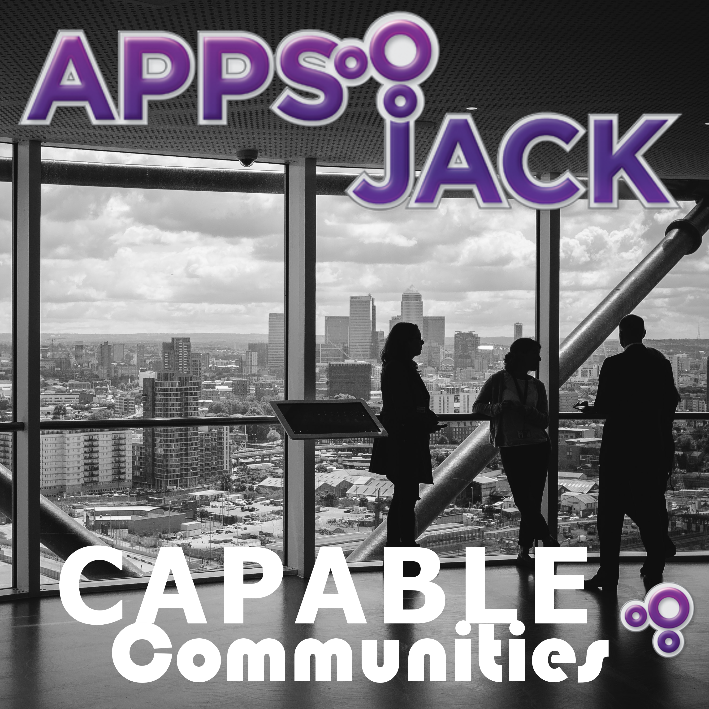 AppsJack Capable Communities Podcast show art