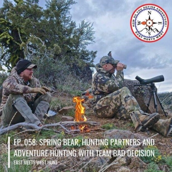 a68d1c6e35d42 info_outline Ep. 058: Spring Bear, Hunting Partners and Adventure Hunting  with Team Bad Decision 04/01/2019