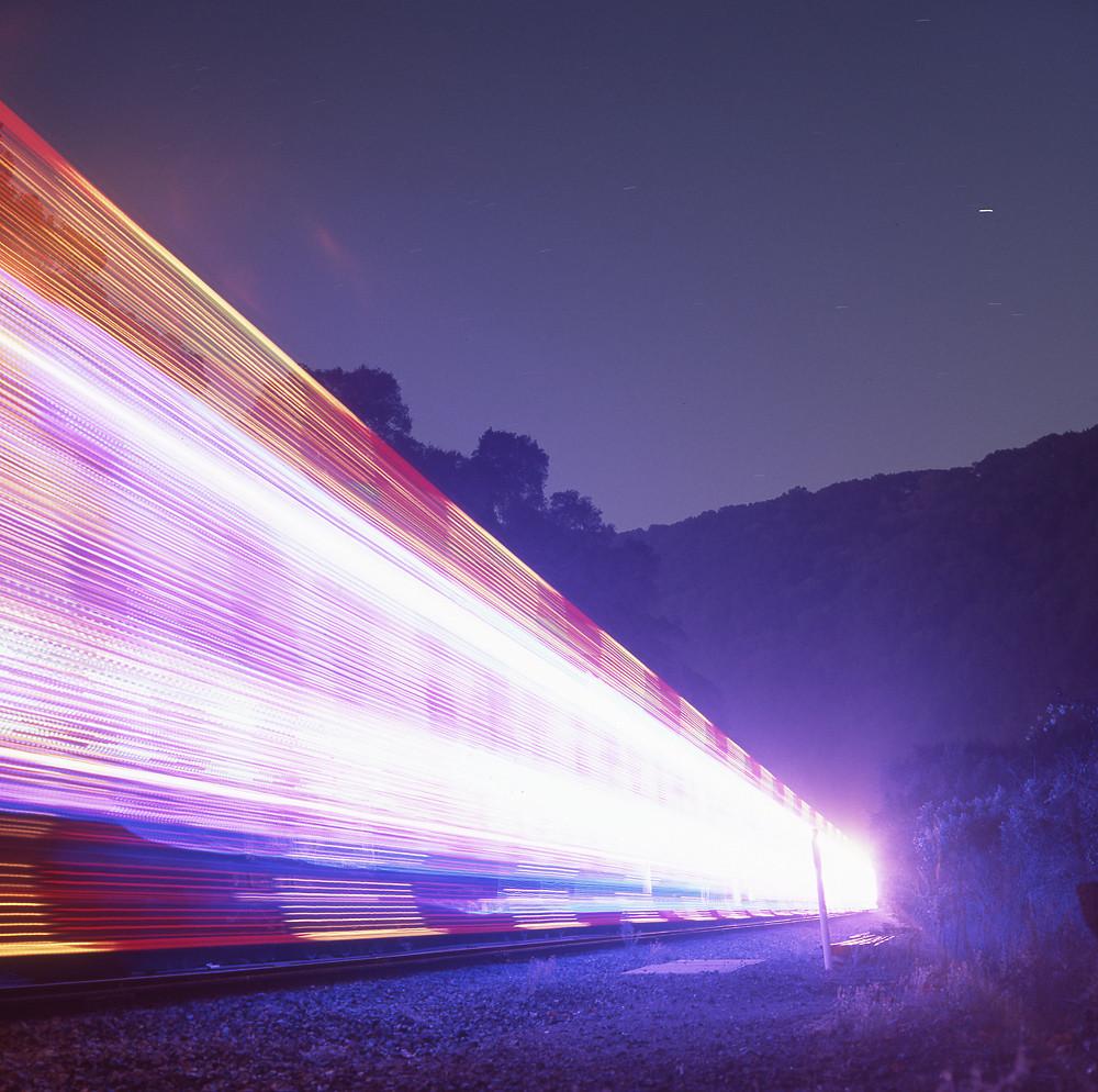Laser Trains!